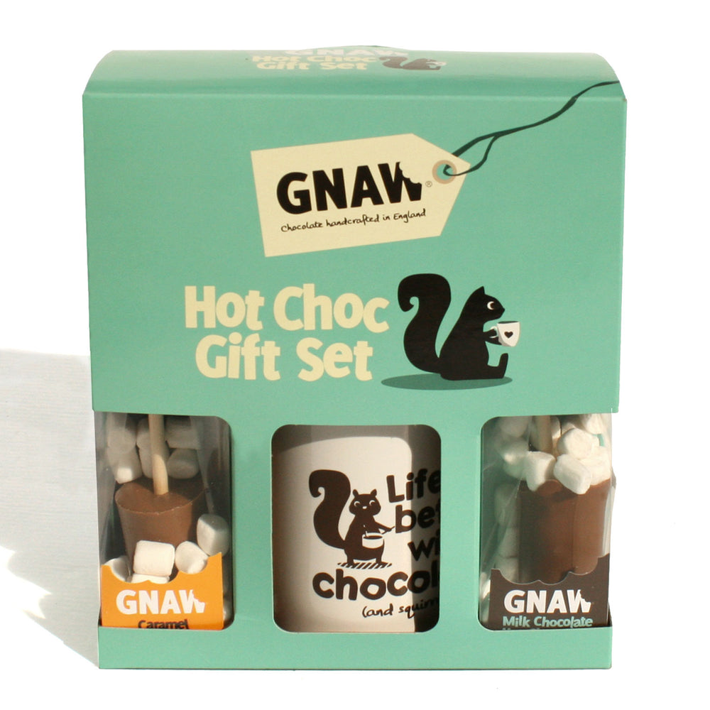 Hot Chocolate Mug Gift Set