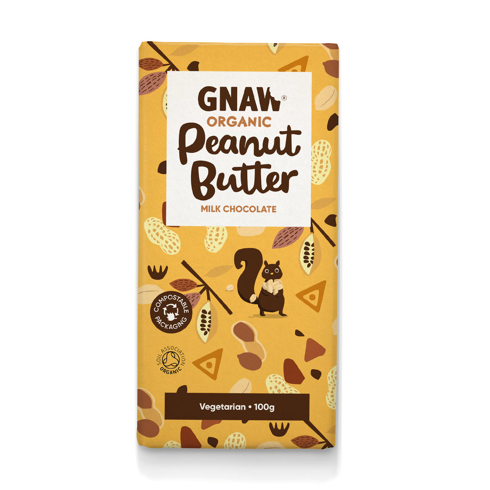 Organic Peanut Butter Millk Chocolate Bar