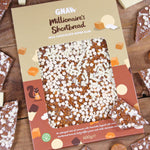 Millionaire's Shortbread Milk Chocolate Super Slab