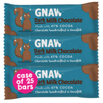 Dark Milk Chocolate Bars • Case (25 x 35g bars)