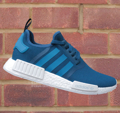 Adidas NMD R1 - Tech Steel/Unity Blue/White