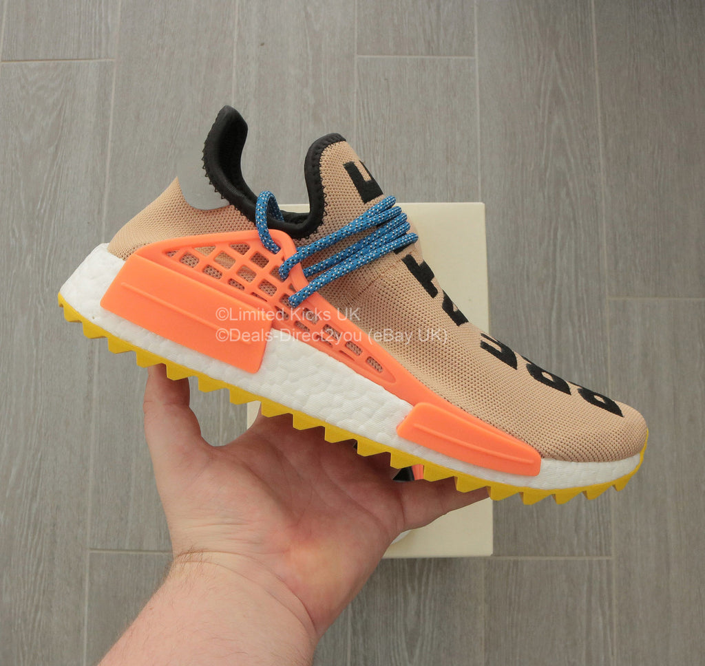 Adidas x Pharrell Williams NMD Human Race Trail - Pale Nude – Limited Kicks  UK bb56ce01d