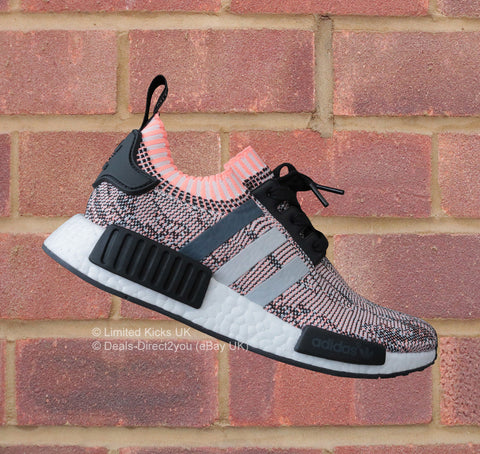 a954fc2f7 Sold Out Adidas NMD R1 Primeknit - Core Black Onix Sunset Glow