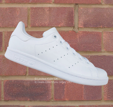 Adidas Originals Stan Smith (J) - White/White