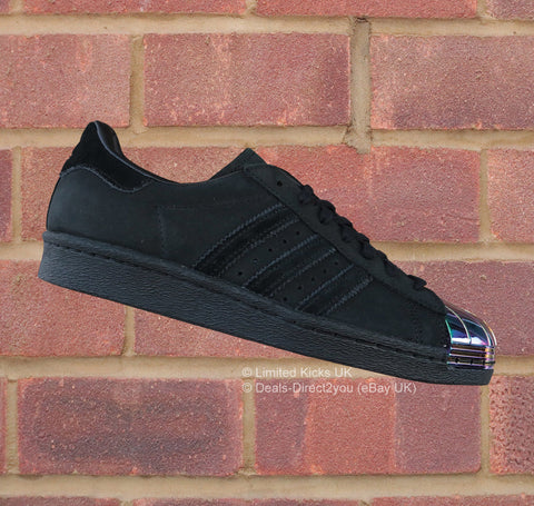 Adidas Originals Superstar 80's Metal Toe Women's - Black/Iridescent
