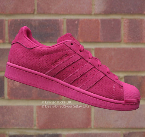 Adidas Originals Superstar (J) - Pink (Suede)