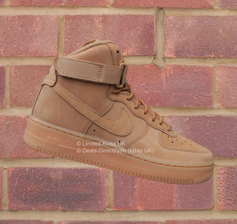 "Nike Air Force 1 (GS) - Flax/Outdoor Green ""Wheat"""