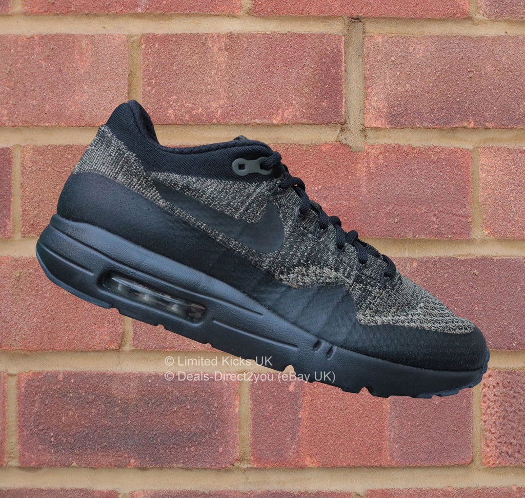 sale retailer e3121 39a62 Nike Air Max 1 Ultra Flyknit - Neutral Olive Black Sequoia