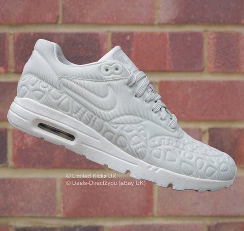 Nike Women's Air Max 1 Plush - Light Bone/Atomic Pink