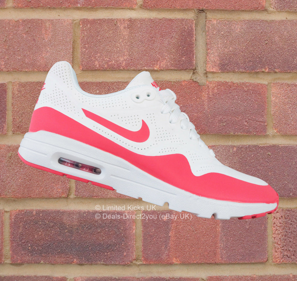 Nike Women's Air Max 1 Ultra Moire - Summit White/University Red
