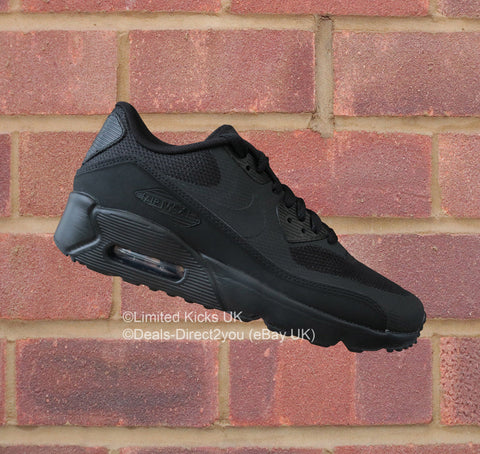 d84ce2d341e9ab Sold Out Nike Air Max 90 Ultra 2.0 (GS) - Triple Black