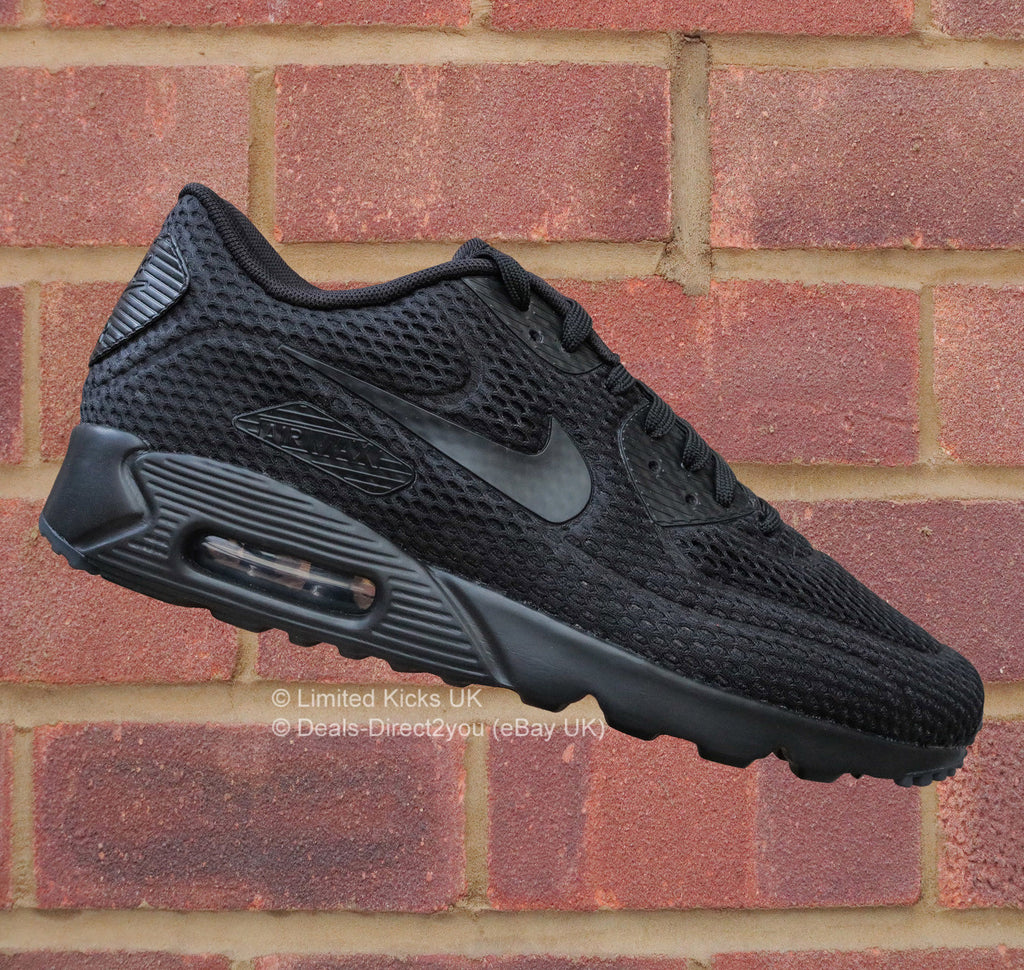 68fd8ffca5332f Sold Out Nike Air Max 90 Ultra BR - Black Total Crimson
