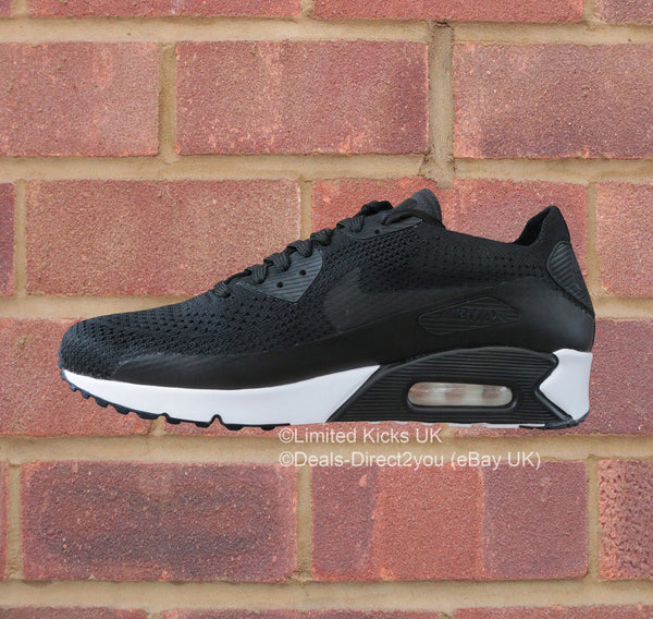 Nike Air Max 90 Ultra 2.0 Flyknit - Black/White