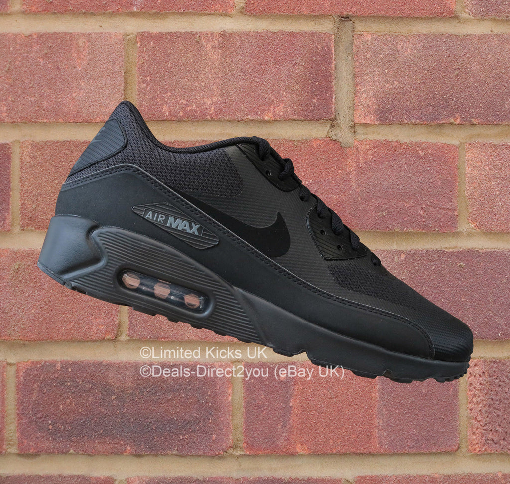 premium selection b4df7 30dc2 Nike Air Max 90 Ultra 2.0 Essential - Black/Dark Grey – Limited Kicks UK