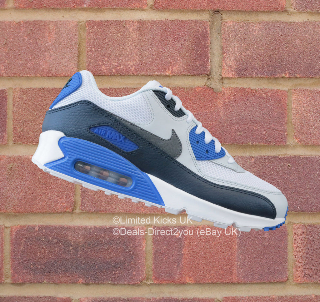 watch 75a08 61202 ... new arrivals nike air max 90 essential white obsidian grey 97fc2 6616d