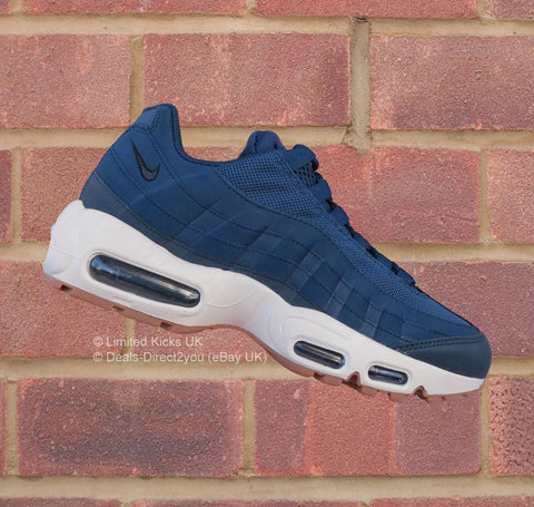 Nike Women's Air Max 95 - Coastal Blue/Navy Blue