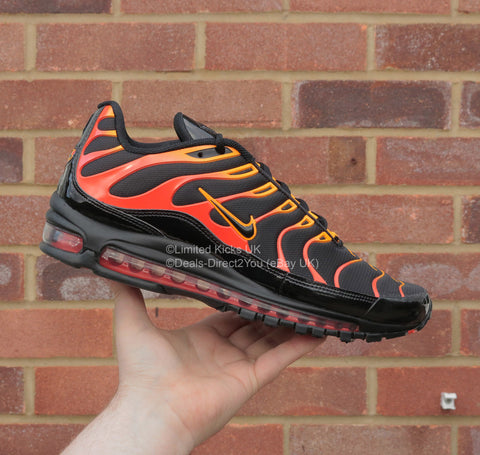 "Nike Air Max 97 Plus - Black/Engine ""Shock Orange"""
