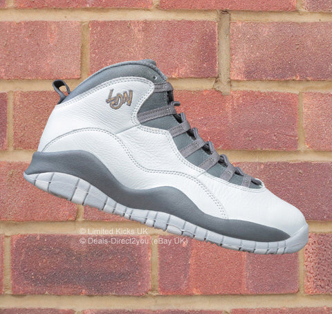 "Nike Air Jordan 10 Retro - Pure Platinum/Gold/Dark Grey ""London"""
