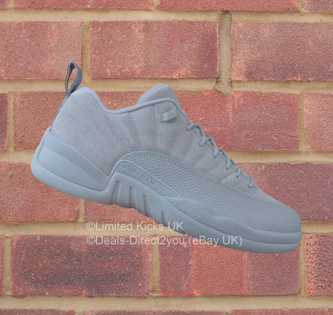 Nike Air Jordan 12 Retro Low - Wolf Grey/Armory Navy