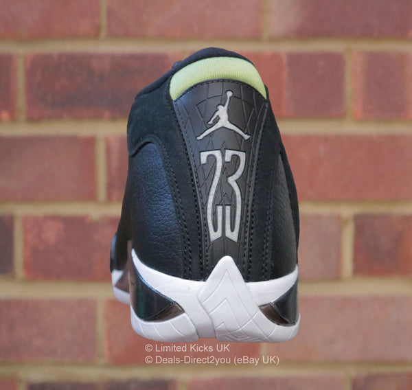 Nike Air Jordan 14 Retro - Black/White/Vivid Green