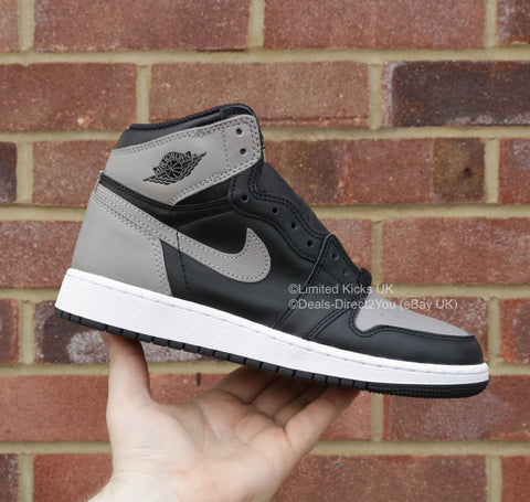 "Nike Air Jordan 1 Retro High OG (BG) - ""Shadow"""