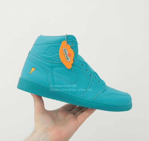 "Nike Air Jordan 1 Retro OG ""Gatorade"" - Blue Lagoon"