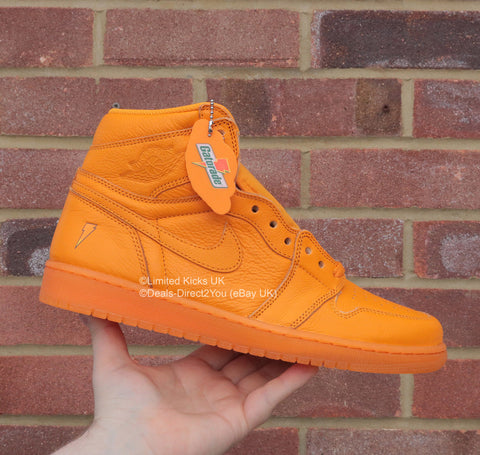 "Nike Air Jordan 1 Retro OG ""Gatorade"" - Orange Peel"