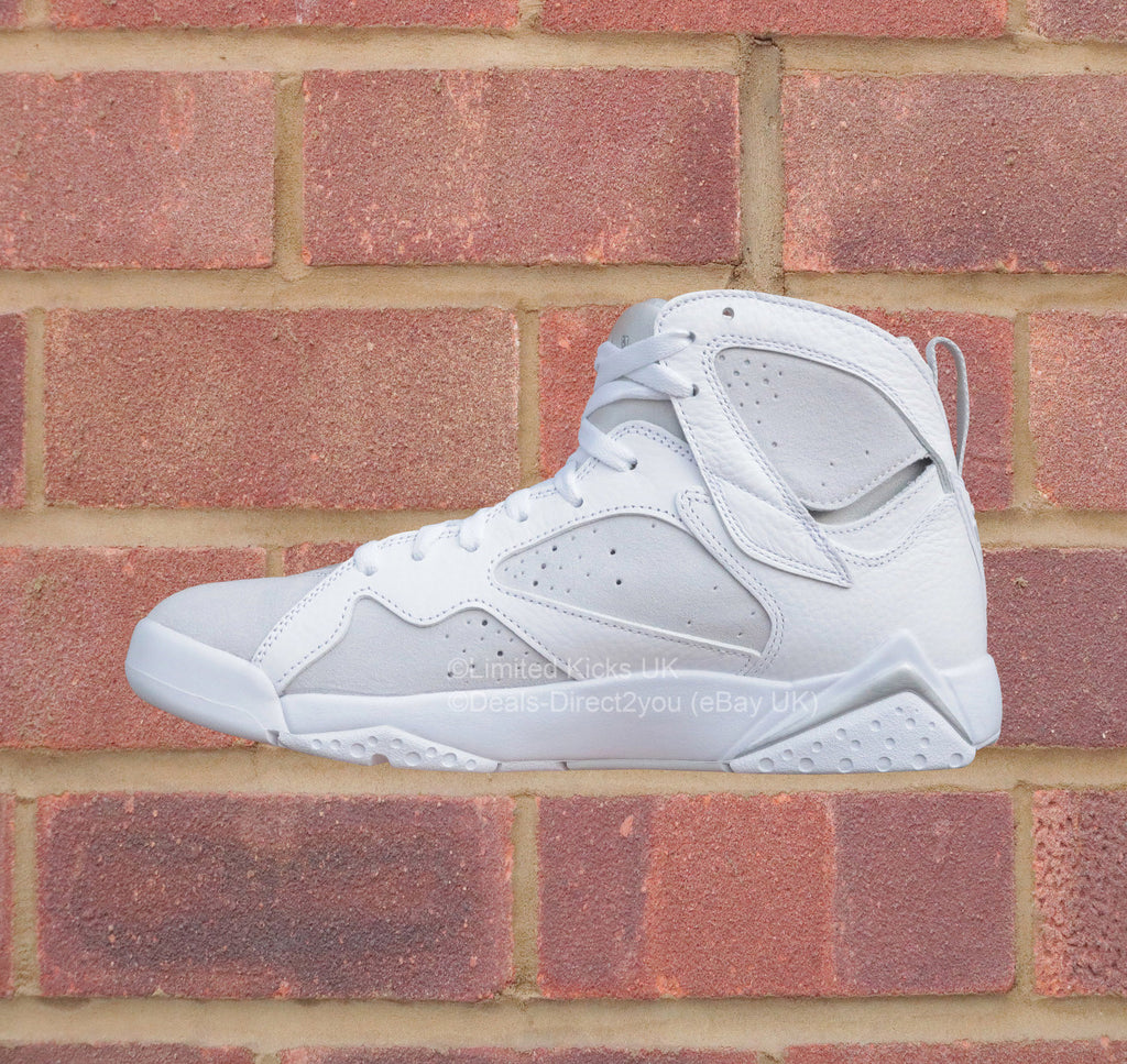 the best attitude 5f7bb c69b0 ... Nike Air Jordan 7 Retro - White Metallic Silver