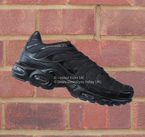 Nike Air Max Plus / TN / Tuned 1 - Triple Black
