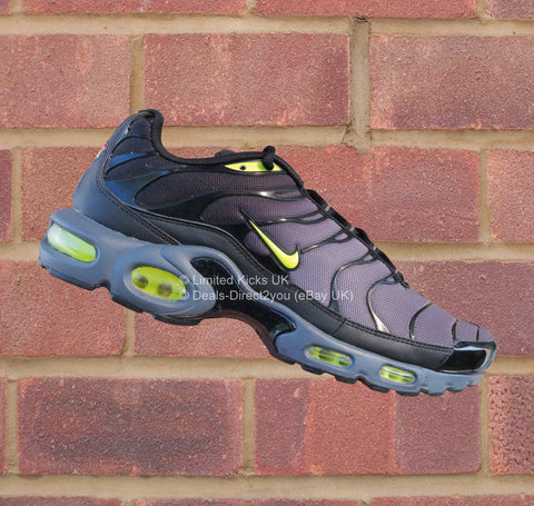 Nike Air Max Plus / TN / Tuned 1 - Dark Grey/Volt/Black