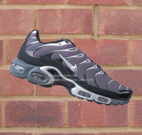 Nike Air Max Plus / TN / Tuned 1 - Dark Grey/Metallic Silver