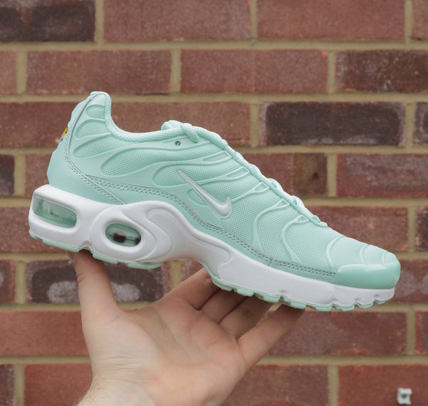 "Nike Air Max Plus SE TN/Tuned 1 (GS) - Igloo/White ""Mint Green"""