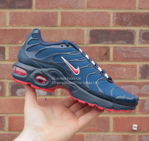 Basket Chaussures Homme Tn Nike Air Max Red Psg Se Blue Pour 54ARjL