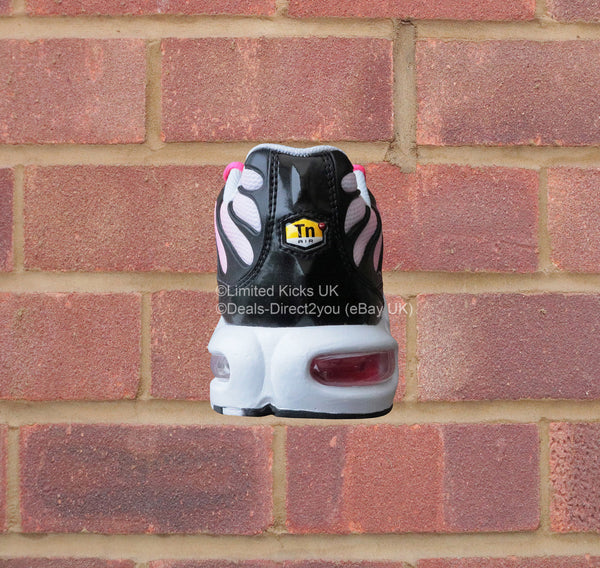 Nike Air Max Plus TN/Tuned 1 (GS) - Black/White/Racer Pink