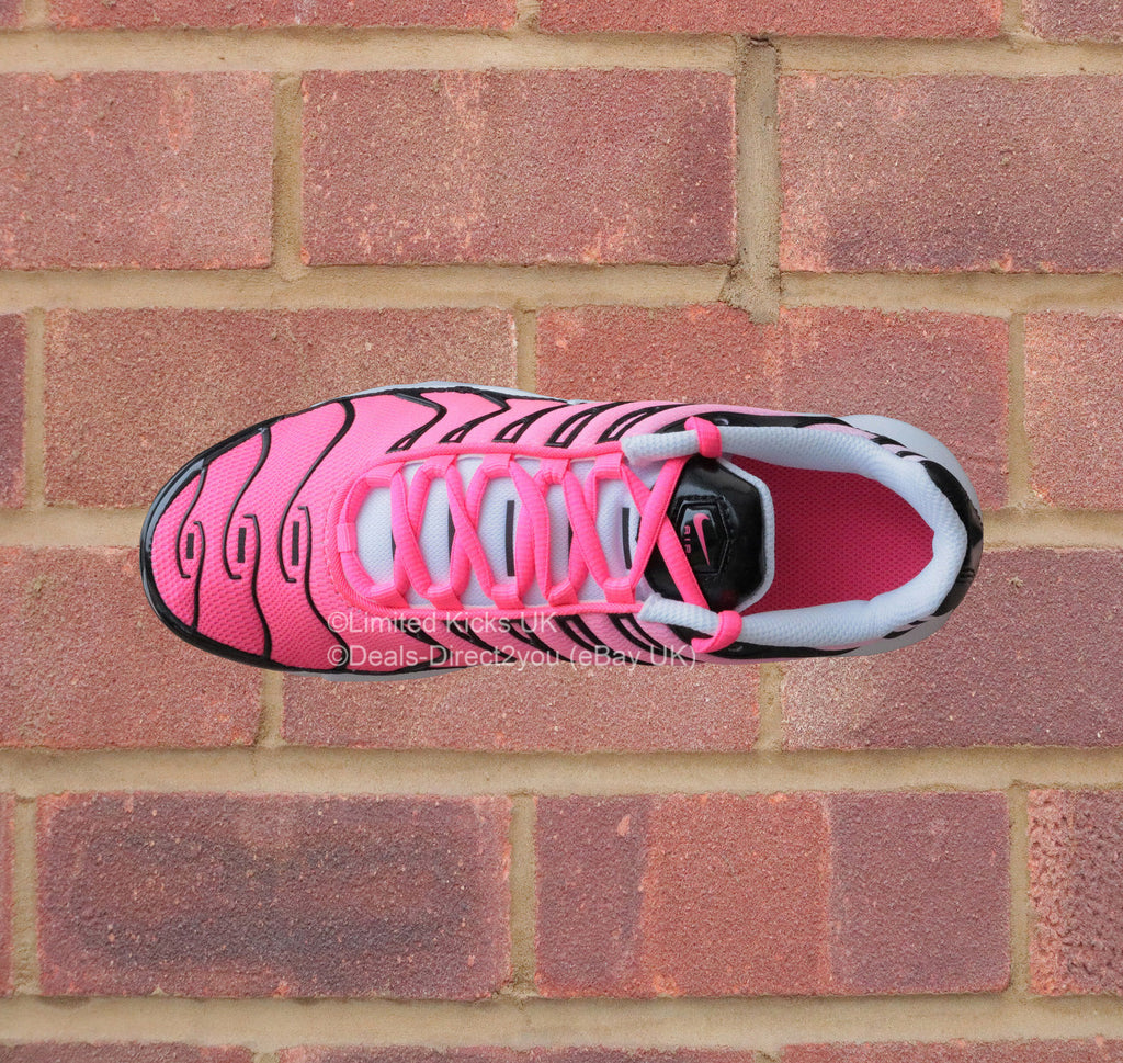 Nike Air Max Plus TN Tuned 1 (GS) - Black White Racer Pink – Limited ... 992f1fe25