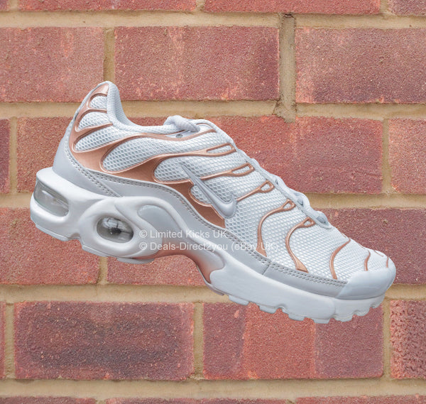 free shipping 1b239 03edb Nike Air Max Plus TN Tuned 1 (GS) - Pure Platinum Rose Gold – Limited Kicks  UK