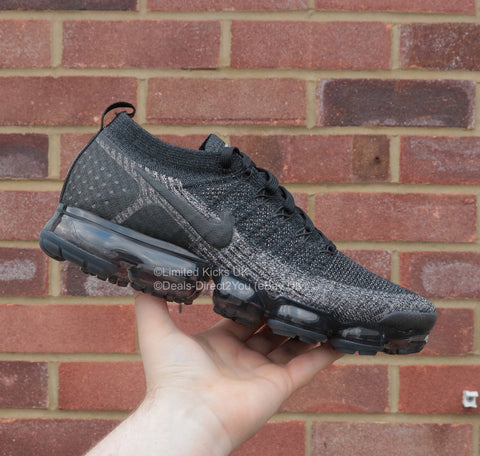 Nike Air Vapormax Flyknit 2 - Black/Dark Grey