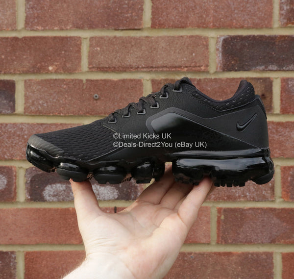 Nike Air Vapormax Mesh (GS) - Black/Dark Grey
