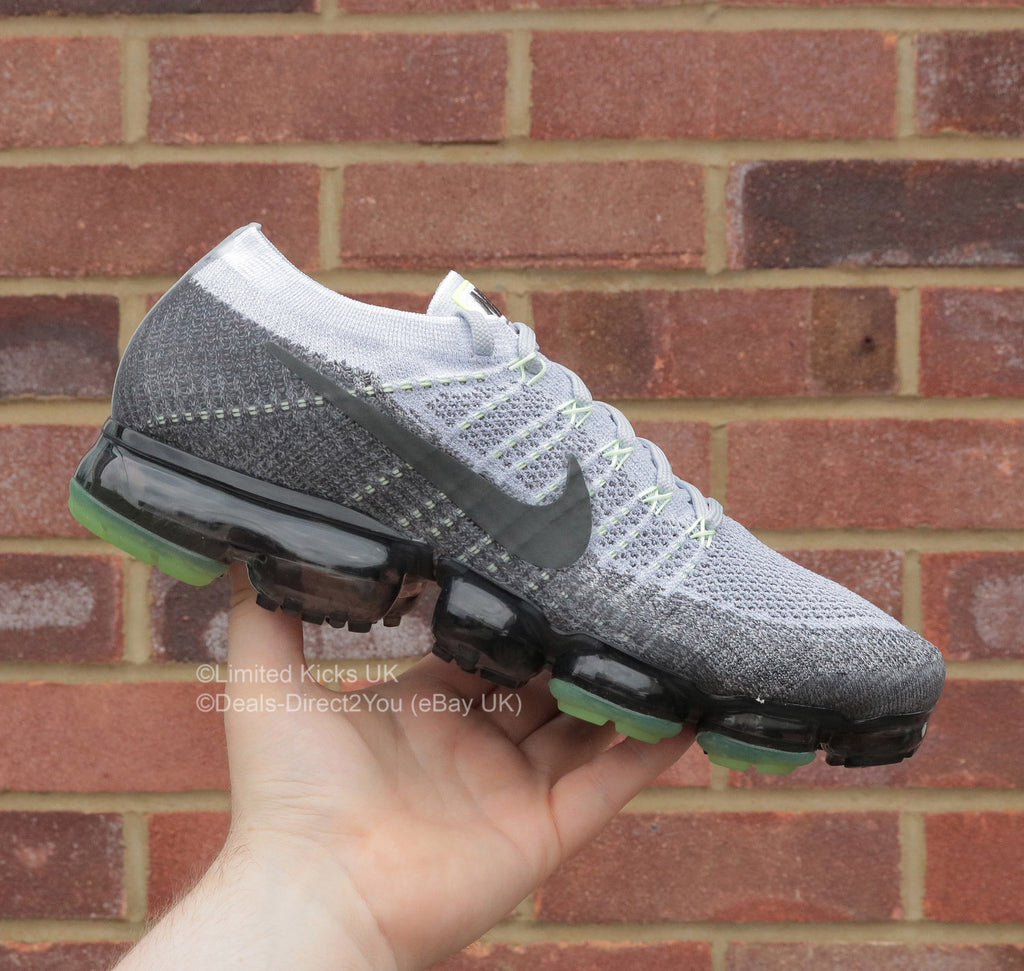 "Nike Air Vapormax Flyknit E - Pure Platinum/White/Neon ""Heritage"""