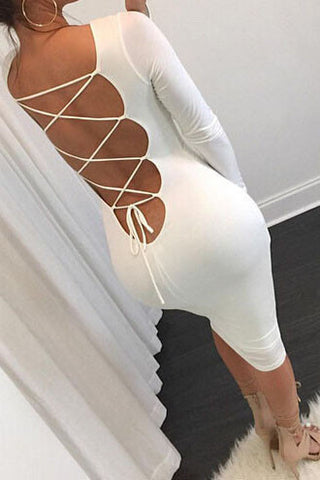 Sexy Backless Tight Dress