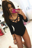 Hollow Out Sexy Tight Rompers Jumpsuit