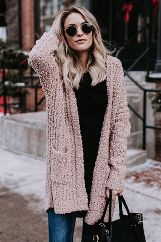 Knit Fashion Cardigan Jacket Coat