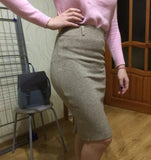 High Waist Tight Fashion Skirt