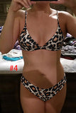 Bikini Micro Swimwear Women Leopard High Cut Swimming Bathing Suit Biquini Set Sexy Swimsuit Femme Brazilian Bikini