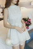 Shiny Women Dress Korean Sleeveless Female Dresses