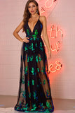 Sexy club outfits Sequin Party woman dress women clothes bodycon vintage maxi Dress elegant Backless Long dresses vestido
