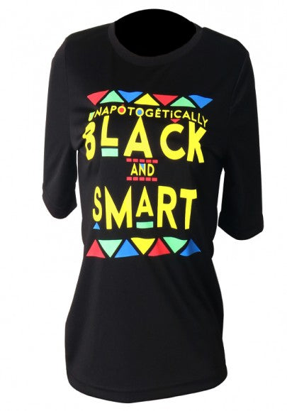 Women Monogram Black And Smart Print Going Out Casual T-Shirt
