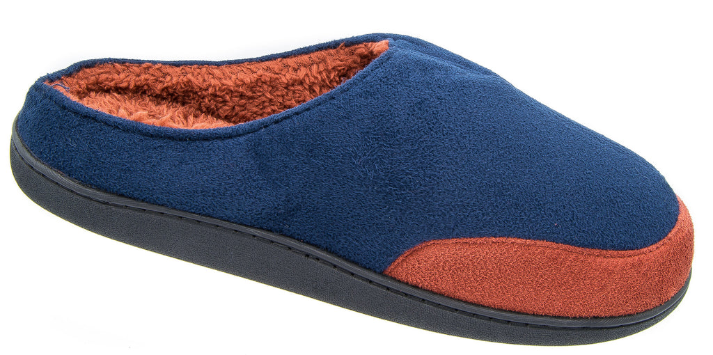 Hombre Coolers Marrón Suede Look Slip On On On Mule Slippers Talla 7 8 9 10 11 12 2bd452