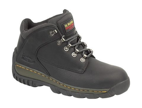 20d846b48fb7 Mens Dr Martens Black Leather Safety Boots £74.99 – Mega Footwear