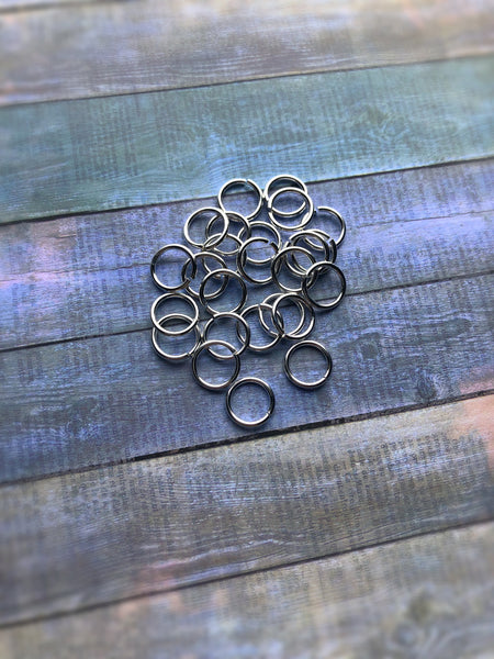 sterling silver hoop ring, 16g thick cartilage, earlobe, body jewelry, navel belly, nose ring, men's hoop, 8mm 10mm 12mm real piercing
